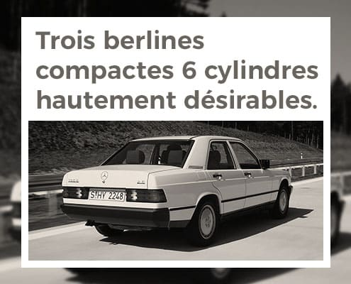Trois Berlines Compactes 6 Cylindres Hautement Desirables Thumb 495x400