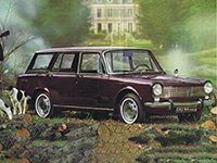 Simca 1300/1301 1500/1501 Break 1964-1976