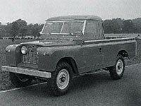 Land Rover Série I / Série II LWB 1954-1971