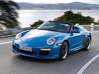 Porsche 911 997 Speedster 2011