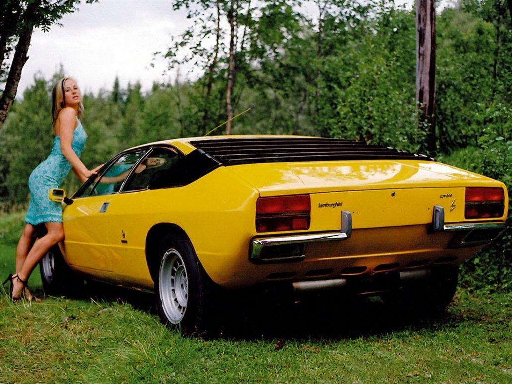 Lamborghini Urraco P250 1972-1979 vue AR - photo Lamborghini