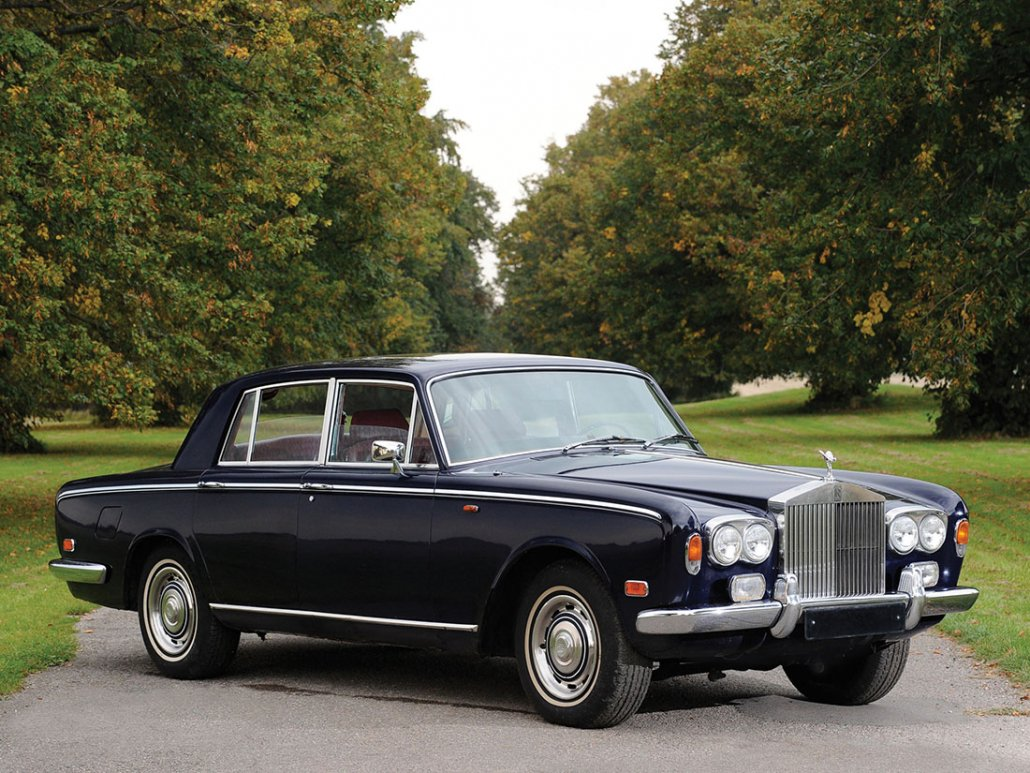 Rolls Royce Silver Shadow 1965-1977 vue AV - photo : Tim Scott, RM Auctions