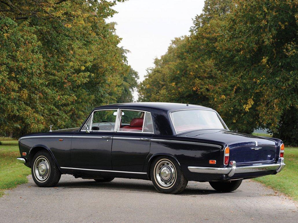 Rolls Royce Silver Shadow 1965-1977 vue AR - photo : Tim Scott, RM Auctions