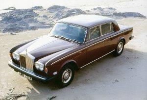Rolls Royce Silver Shadow II 1977-1980 vue AV - photo Rolls Royce