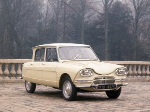 Citroën Ami 6 1961-1969 vue AV photo Citroën