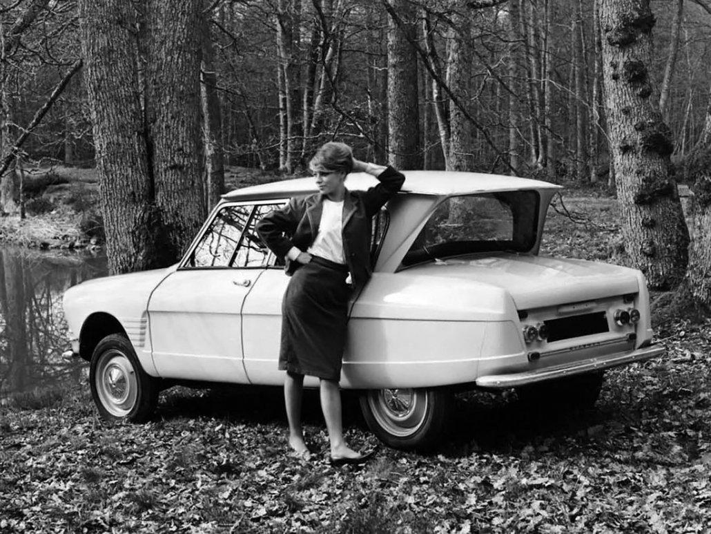 Citroën Ami 6 1961-1969 vue AR photo Citroën