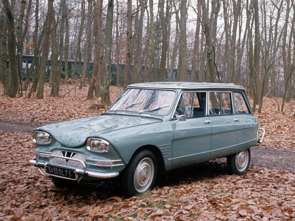 Citroën Ami 6 break 1964-1969 vue AV photo Citroën