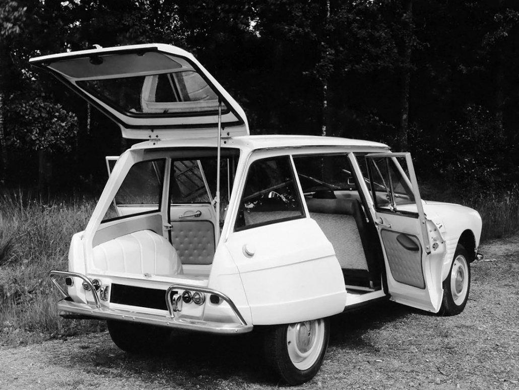 Citroën Ami 6 break 1964-1969 vue AR photo Citroën