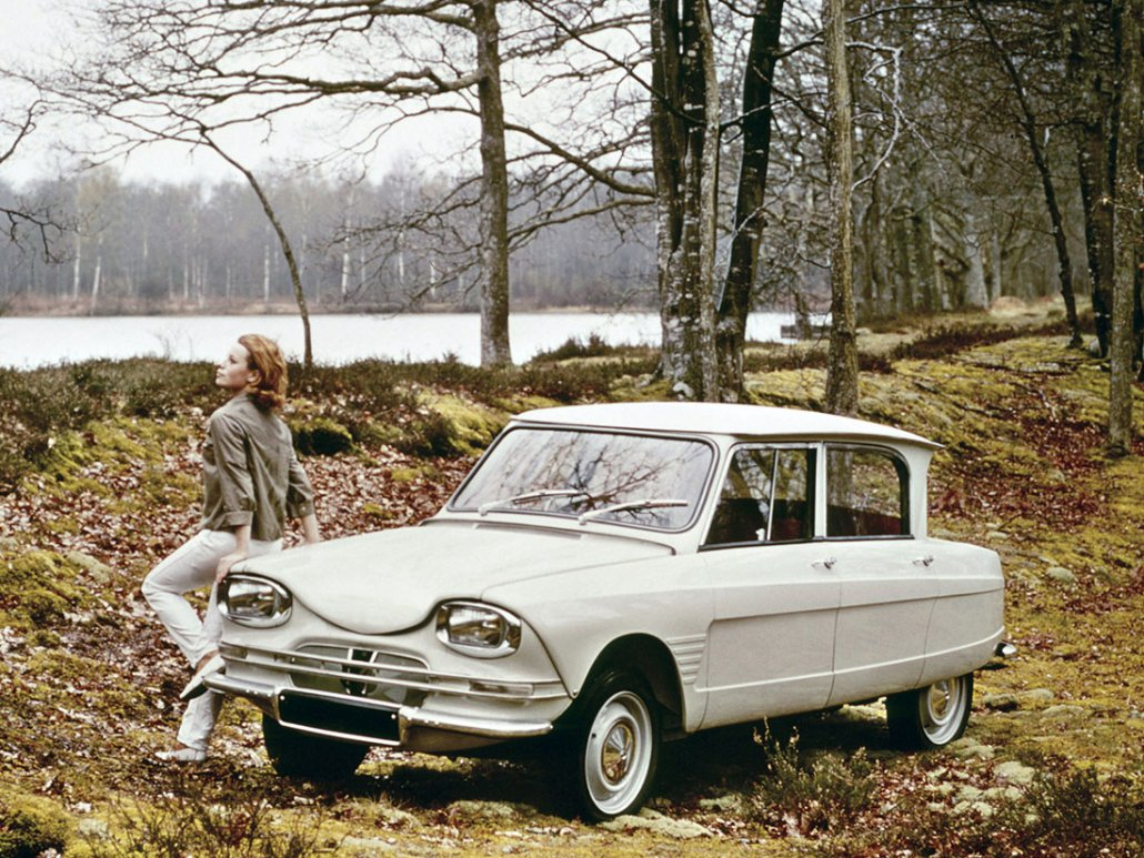 Citroën Ami 6 1961-1969 vue AV photo Citroën