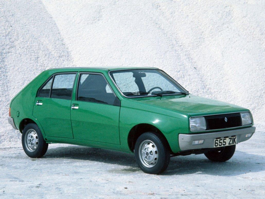 Renault 14 TL 1976-1979 vue AV - photo Renault