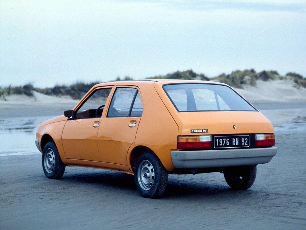Renault 14 L 1976-1977 vue AR - photo Renault