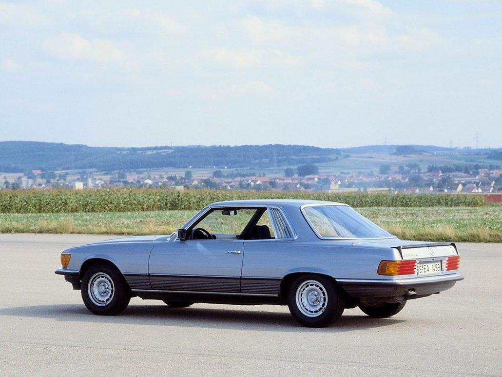 Mercedes SLC 107 | Évolutions et caractéristiques | Auto Forever