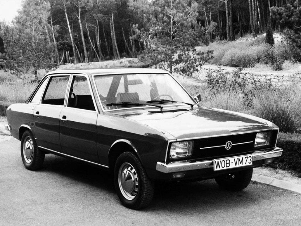Volkswagen K70 1970-1971 vue AV - photo Volkswagen AG