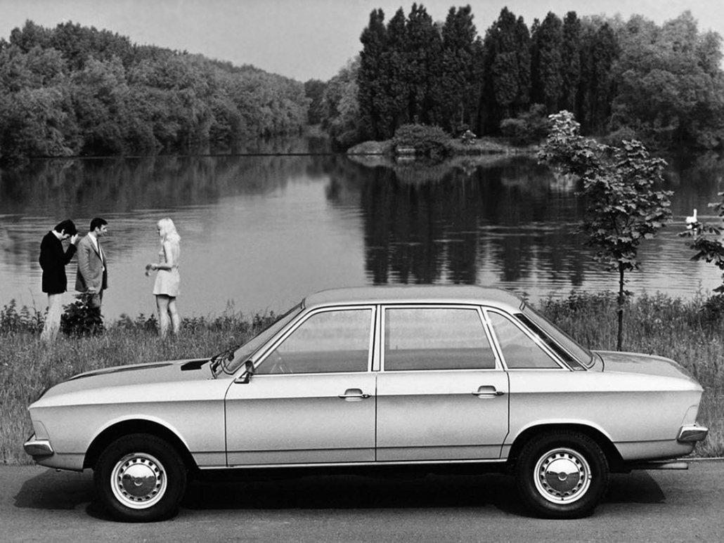 Volkswagen K70 1970-1971 profil - photo Volkswagen AG