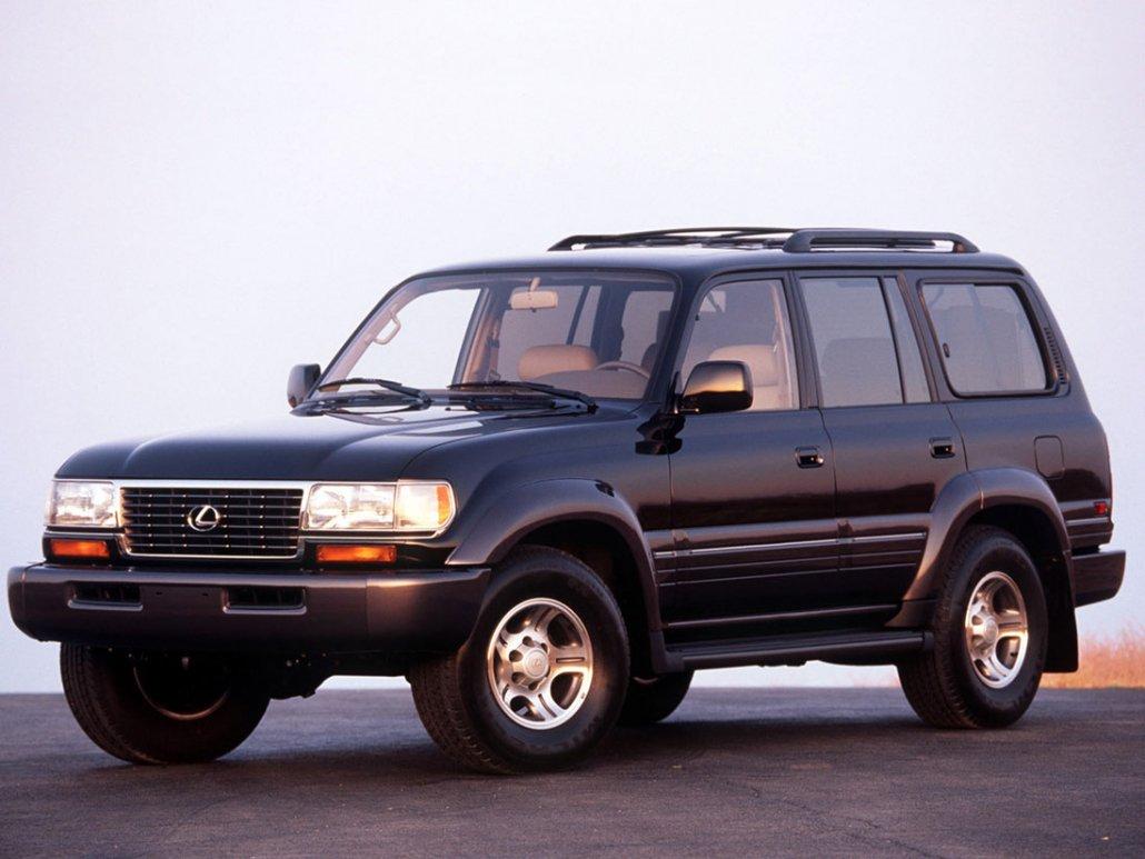 Lexus LX 450 1996-1998 vue AV - photo Lexus