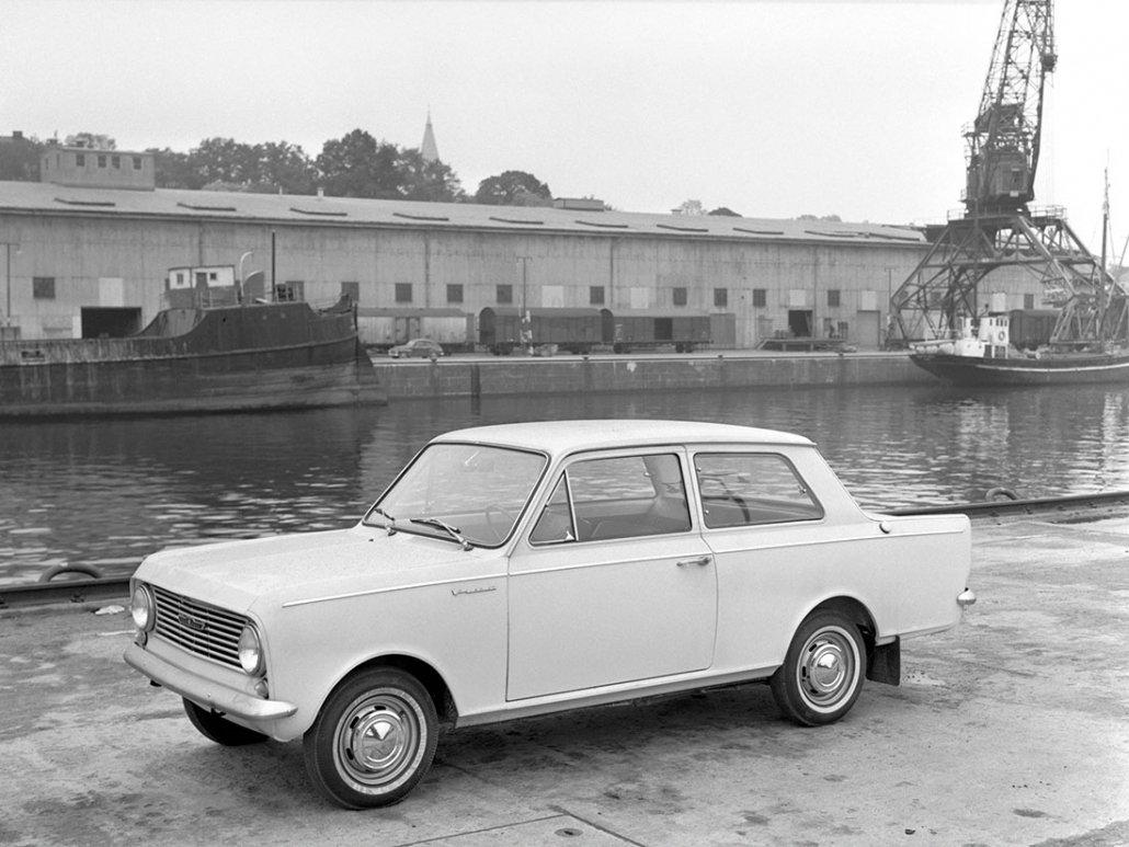 Vauxhall Viva De Luxe 1963-1966 vue AV
