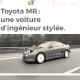 Toyota MR : une voiture d'ingénieur stylée