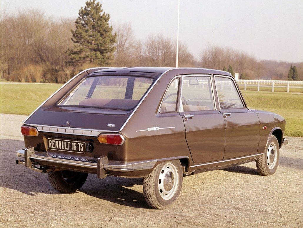 Renault 16 TS 1968-1970 vue AR - photo Renault
