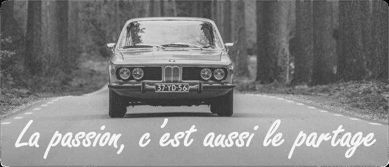 Slogan passion auto forever