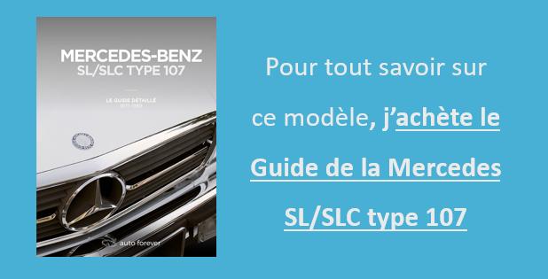 Livre Mercedes SL SLC type 107 Auto Forever