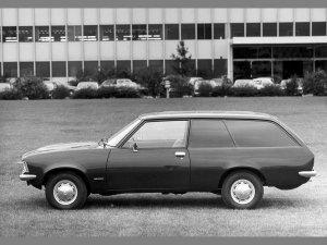 Opel Rekord D Fourgonnette 1972-1977 vue profil - photo Opel