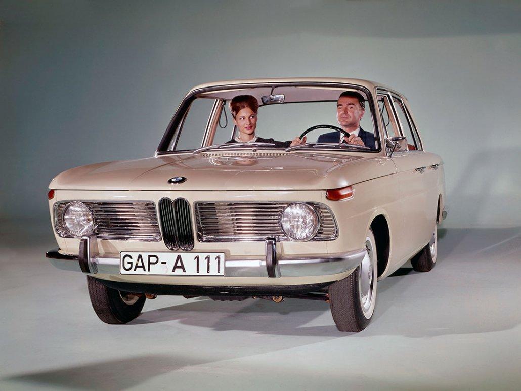 BMW 1500 1962-1963 vue AV - photo BMW
