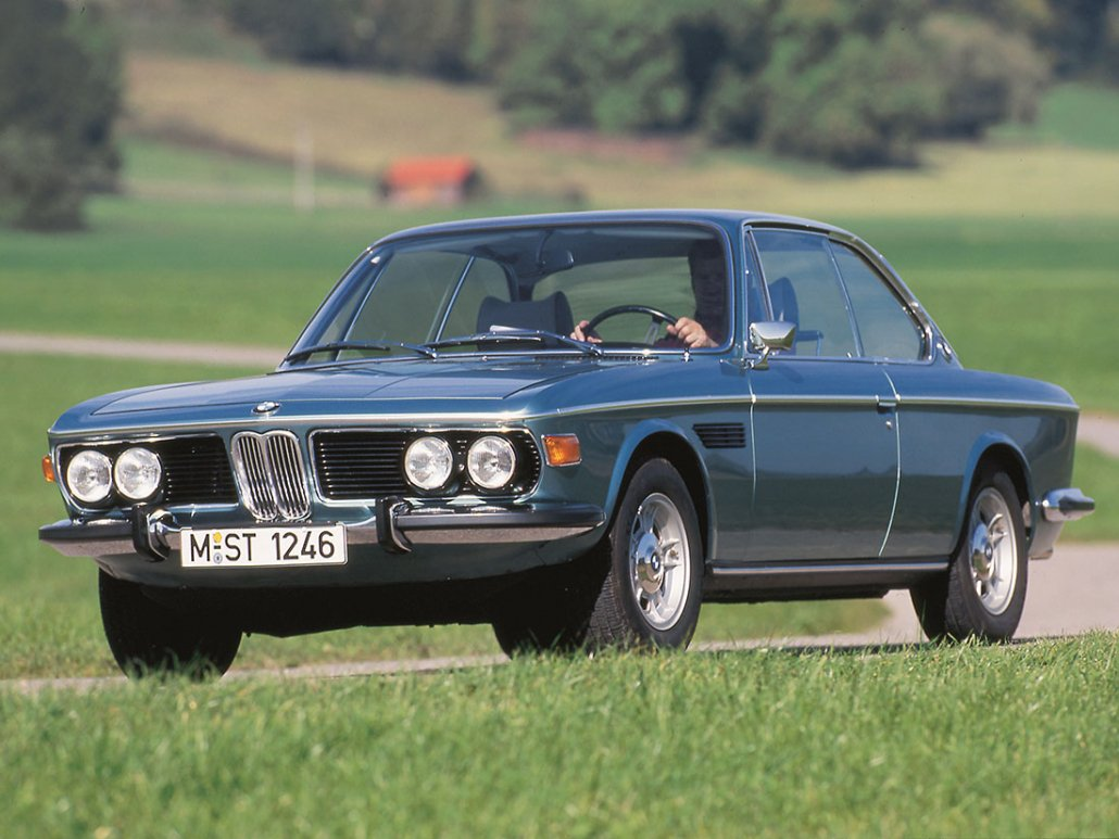 BMW 3.0 CSi E9 1971-1973 vue AV - photo BMW