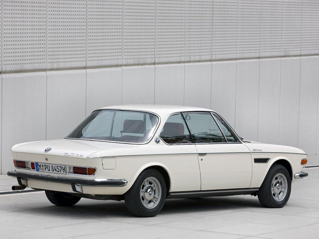 BMW 3.0 CSi E9 1971-1973 vue AR - photo BMW Classic